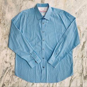 ROBERT GRAHAM Button Down Collared Shirt